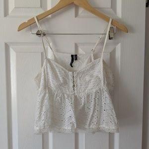 O'Neill Eyelet Lace Crop Too